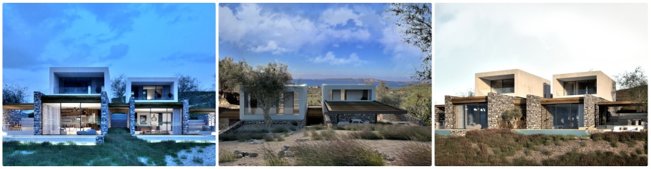 Hill Side Villa - Type U1 – Ref.906: Boutique Residential Complex, Unique Design And Architectural Style, Stunning Sea Views, 2 Bedrooms, Swimming Pool, Exclusive Services