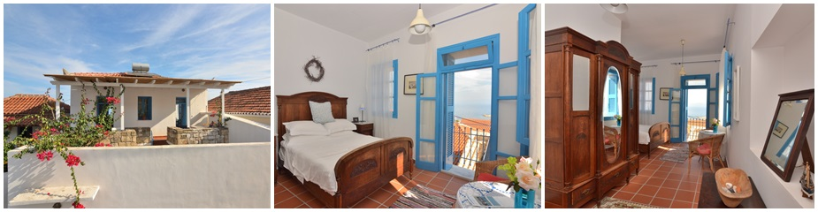 Town House ref.608: Traditional Venetian style village townhouse compromising four lovely apartments in the heart of the historic & beautiful village of Koroni
