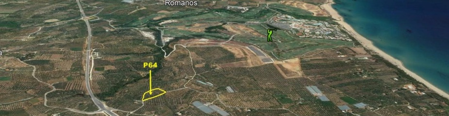Plot of land P64: Perfectly located near the Dunes golf course, sea views, Plot(s) 8.068,52 m², 2.2 km distance to the beach, Easy access