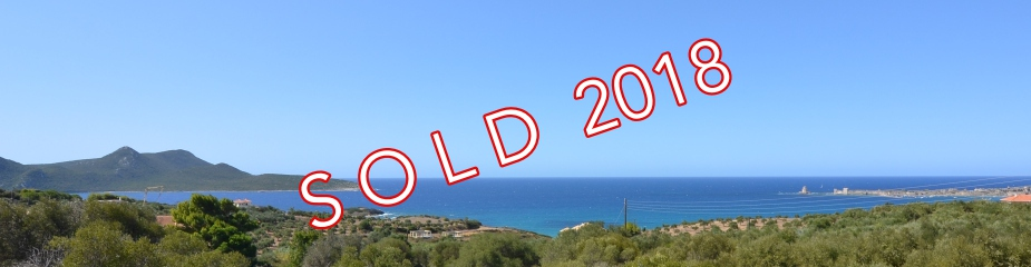 Plot of land M11: Beautiful sea and castle views, close to the picturesque town of Methoni, Plot 11,306.60 m², Easy access