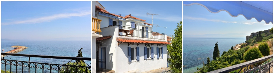 Town house Ref.371: Located at the edge of seaside historical town, walking distance to the beach and the shops, stunning panoramic sea views, living area 84.17 m² excluding terraces, 2 bedrooms, 2 bathrooms, parking area