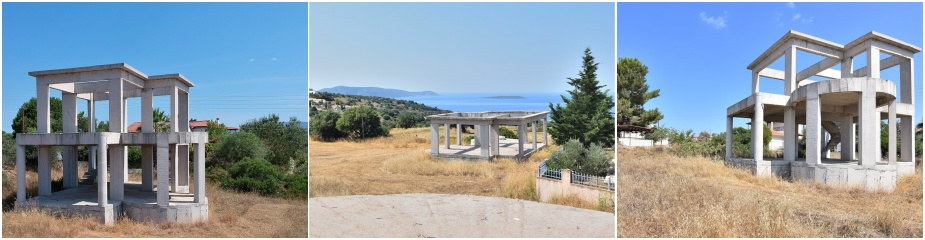 Two storey house ref.200: House under construction, located at the edge of the village Finiki, beautiful uninterrupted sea views, plot 590 m², living area of 95 m², 2 bedrooms, spacious terrace, parking area, 2.9 km distance to the sandy beach, easy access