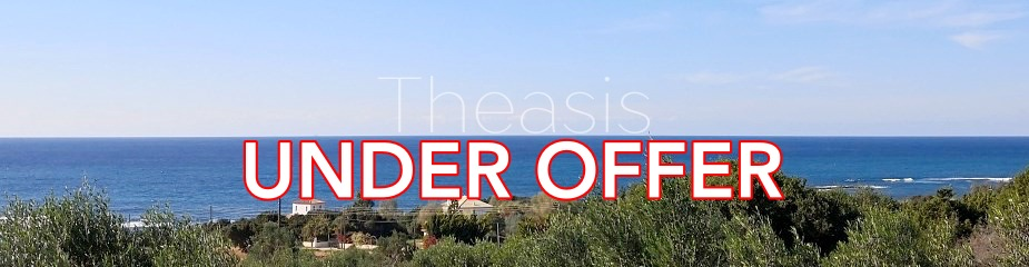 Plot of land P70: Walking distance (from 200m) to several sandy beaches, Beautiful panoramic sea views, signature Golf courses close by, productive olive trees, easy access