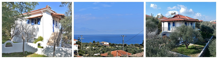 House Asini Ref.229: Beautiful unobstructed sea and mountain views, plot 470 m², 2 bedrooms, 1 bathroom, garden, storage area, parking area