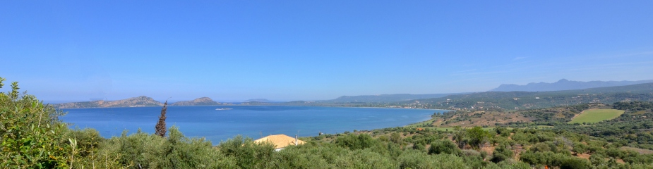 Plot Of Land P56: Stunning Unobstructed Sea Views, Perfectly Located Between Pylos & Navarino Bay Golf Course, Private Water Well Drilling, Planted With Olive Trees And Fruit Trees, Easy Access
