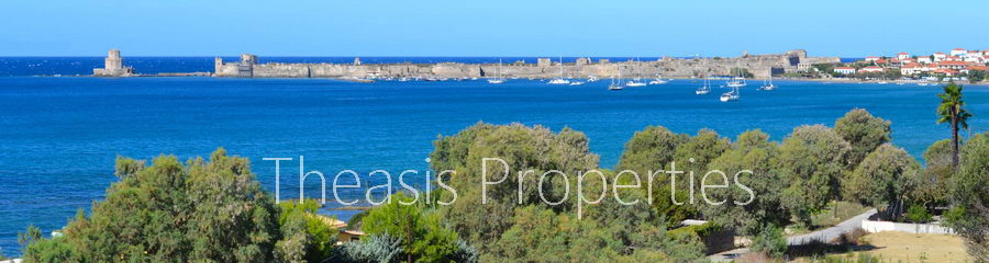 Plot Of Land M15: 7.216 M² With Building Permit. Walking Distance 100 M To The Beach And 1.2 Km To The Beachfront Square Of Methoni