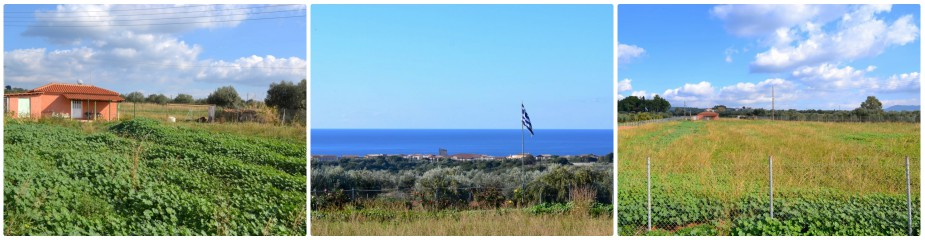 "Farm House Ref.192: Panoramic Sea Views, Located Close To The Village ""Tragana"" And The Luxury Golf Resort Costa Navarino, Plot 12,073 M2, House 40 M2, Fenced Property, Easy Access, Private Water Drilling"