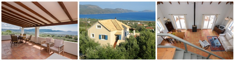Villa Olivia Ref181: Marvelous Sea Views, Living Area Of 145 M2 Plus Basement, Fully Furnished & Equipped, Parking Area, Garden
